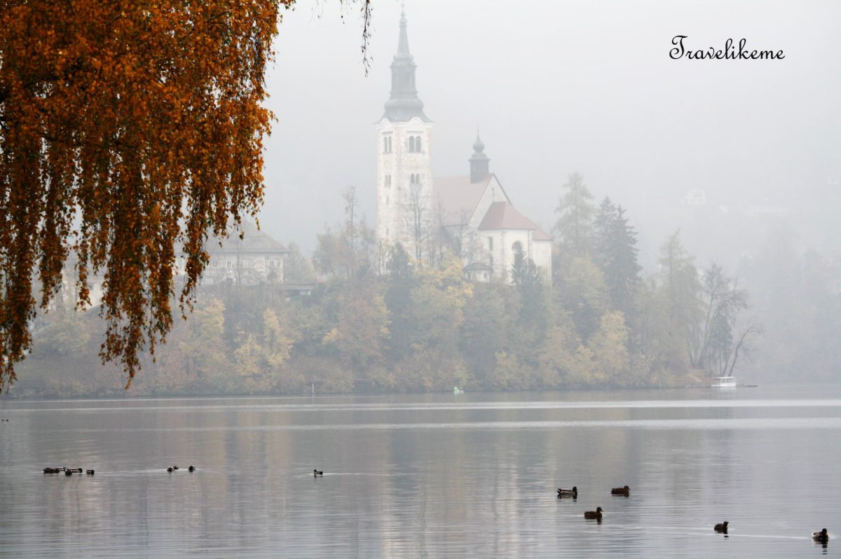 Surreal Bled Island