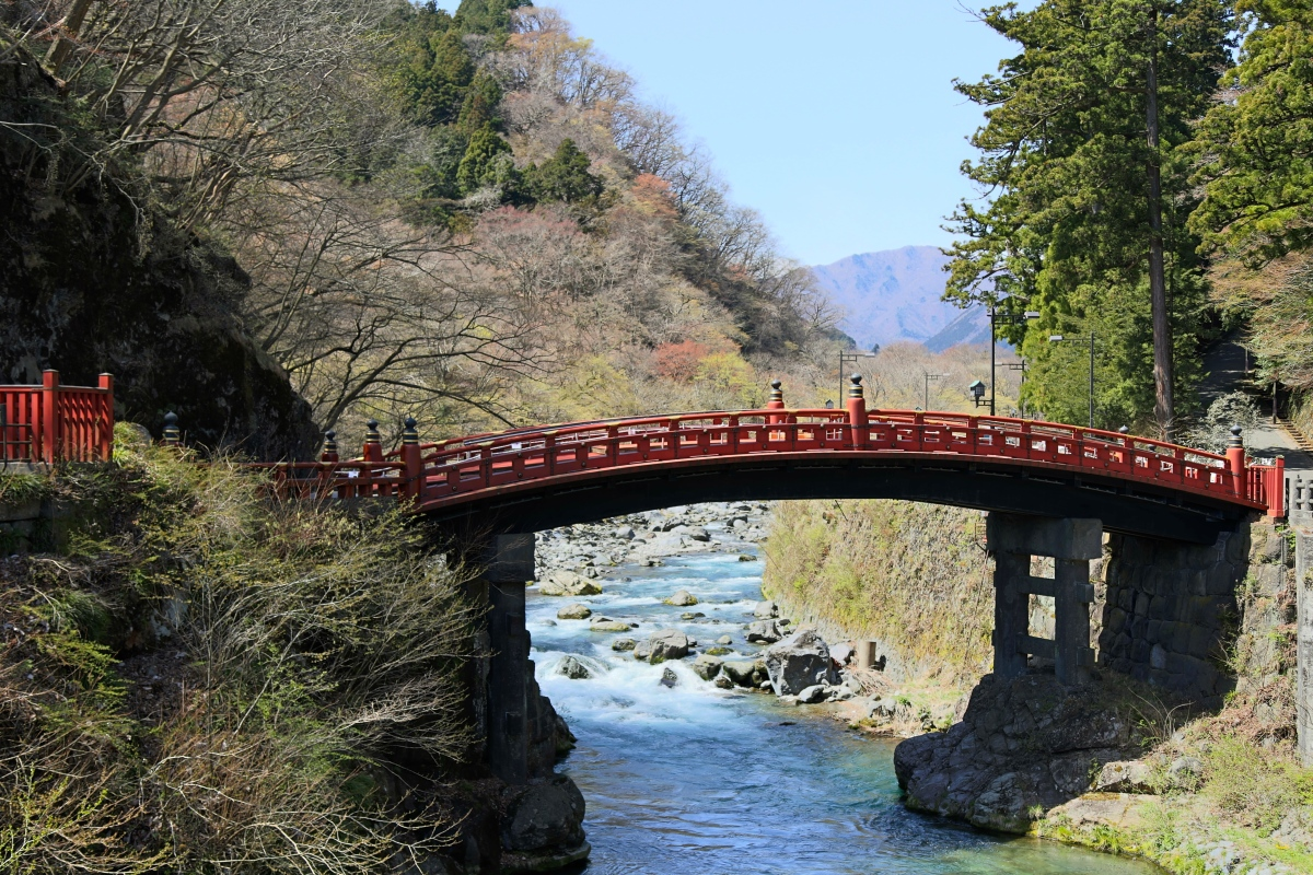 A Sacred Bridge - Shinkyo